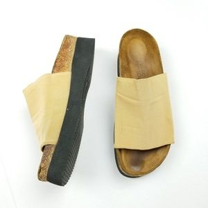 Naot Slides Sandals Fabric Upper US 9 EUR 40